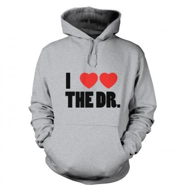 I Heart Heart The Dr hoodie