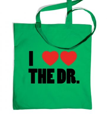 I Heart Heart The Dr - Dr Who - Tote Bag