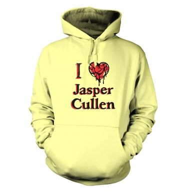 I heart Jasper Cullen hoodie - Inspired by Twilight