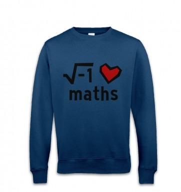 i Heart Maths sweatshirt