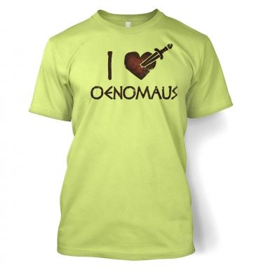I heart Oenomaus men's T-Shirt