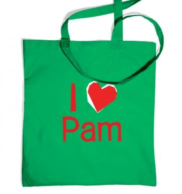I heart Pam tote bag - Inspired by True Blood