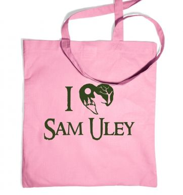 I Heart Sam Uley  tote bag
