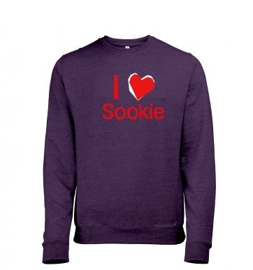 I heart Sookie heather sweatshirt