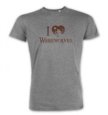I Heart Werewolves premium t-shirt