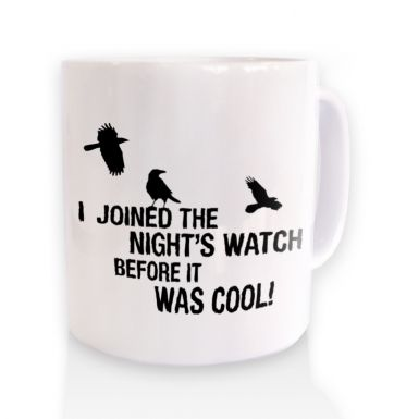 I Joined The Nights Watch mug