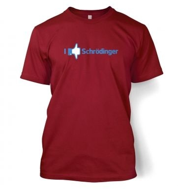 I Like Dislike Schrodinger men's t-shirt