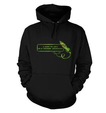 I Lost My Wife To A Virtual Wasteland hoodie