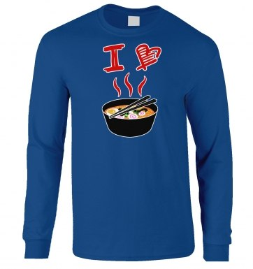 I Love Ramen long-sleeved t-shirt