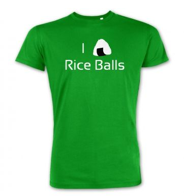 I Love Rice Balls! Japanese  premium t-shirt