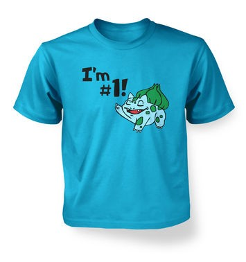Im #1!  kids t-shirt