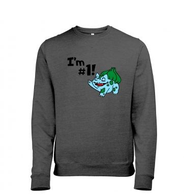 I'm #1! Mens Heather Sweatshirt