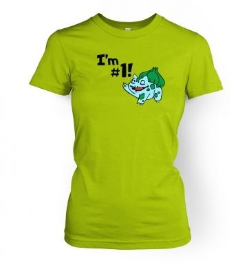 Im #1!  womens t-shirt