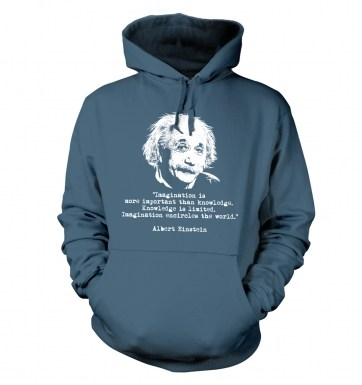 Imagination Quote Einstein hoodie