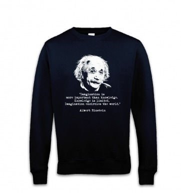 Imagination Quote Einstein sweatshirt