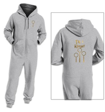 I'm A Keeper adult onesie