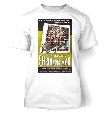 Incredible Shrinking Man  t-shirt