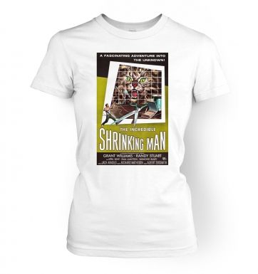 Incredible Shrinking Man  womens t-shirt