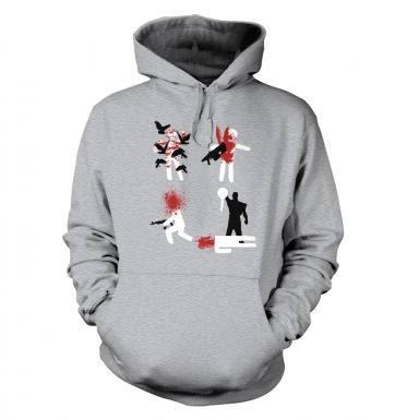 In Game Deaths adults' hoodie