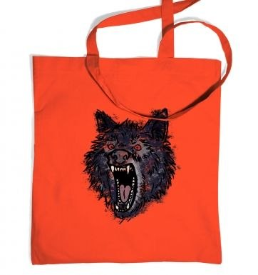 Insanity Wolf tote bag
