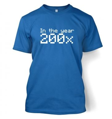 In the year of 200x  t-shirt