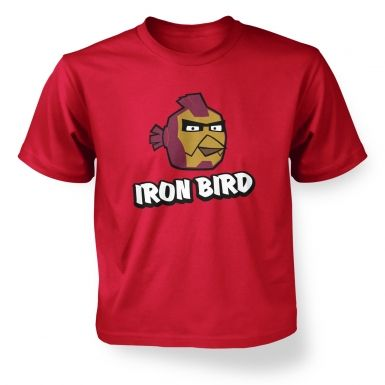 Iron Bird Kids T shirt