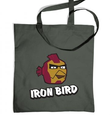 Iron Bird tote bag