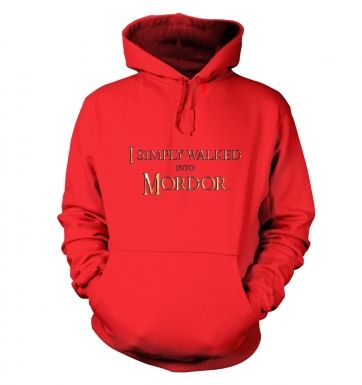 Gold I simply walked into Mordor hoodie