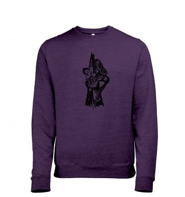 Island Explorer men's heather sweatshirt