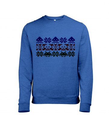Isle Invaders men's heather sweatshirt