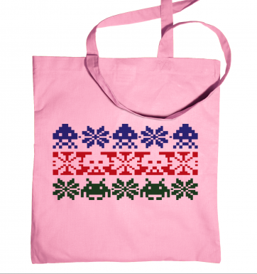 Isle Invaders tote bag