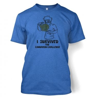 I Survived The Cinnamon Challenge  t-shirt