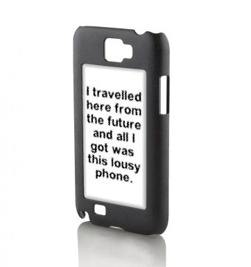 I Travelled Here From The Future Galaxy Note 2 phone case