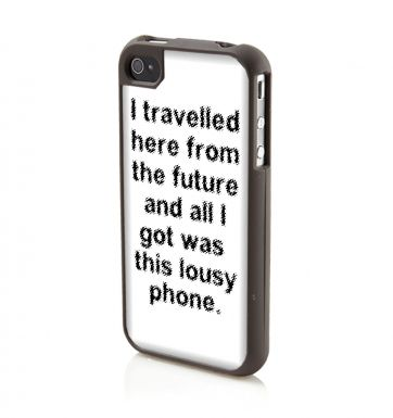 I Travelled Here From The Future - iPhone 4/4S case