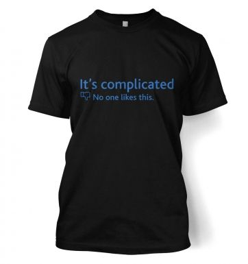 It's Complicated Social Status t-shirt