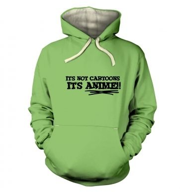 Its Not Cartoons!  hoodie (premium)
