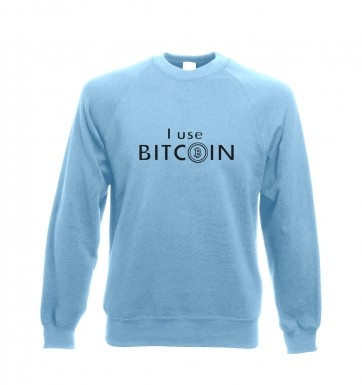 I use bitcoin sweatshirt