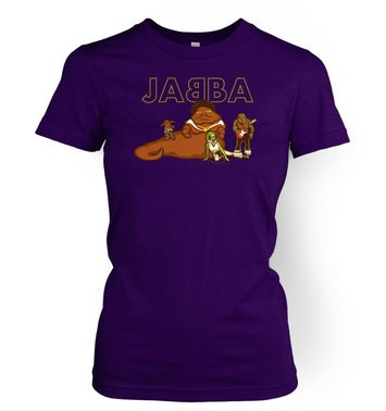 JABBA The Hutt And Friends womens t-shirt