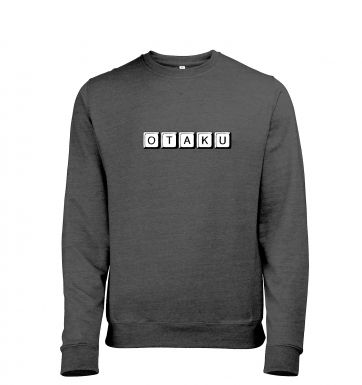 Japanese 'Otaku' Mens Heather Sweatshirt