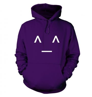 Japanese-Style Happy Emoticon hoodie
