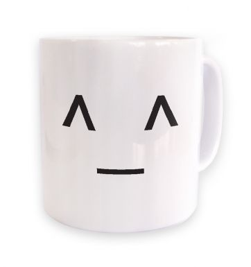 JapaneseStyle Happy Emoticon  mug