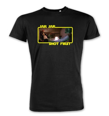 Jar Jar Shot First premium t-shirt