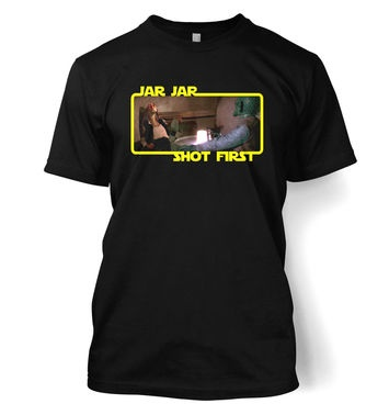 Jar Jar Shot First t-shirt