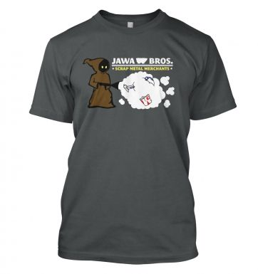 Version 1 Jawa Bros. Scrap Metal Merchants t-shirt
