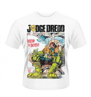 Judge Dredd Is Boss t-shirt - Official