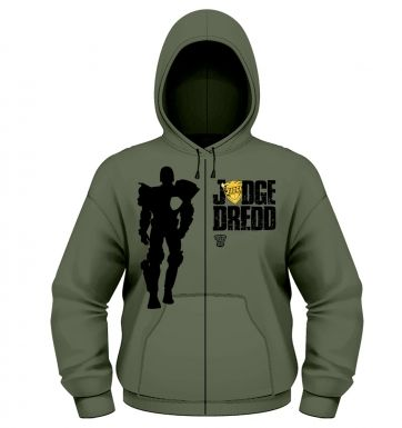 Judge Dredd Silhouette zoodie - Official