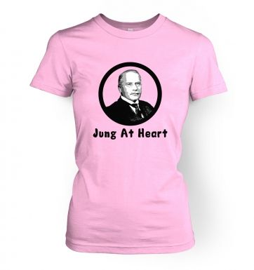 Jung At Heart women's t-shirt