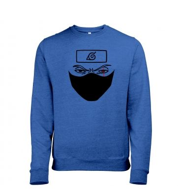 Kakashi Face heather sweatshirt