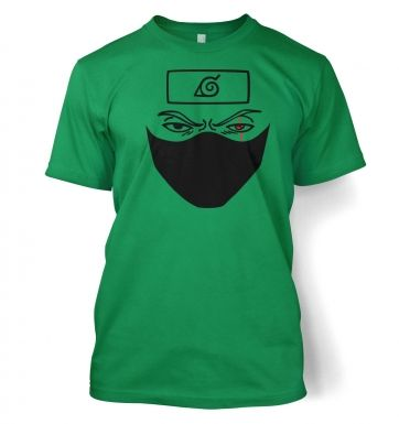 Kakashi Face  t-shirt