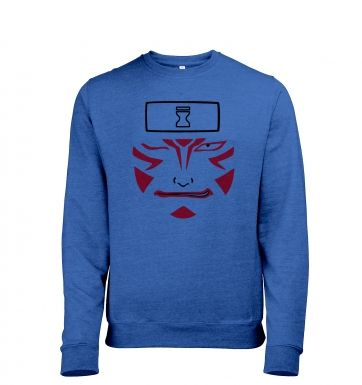 Kankuro Face heather sweatshirt